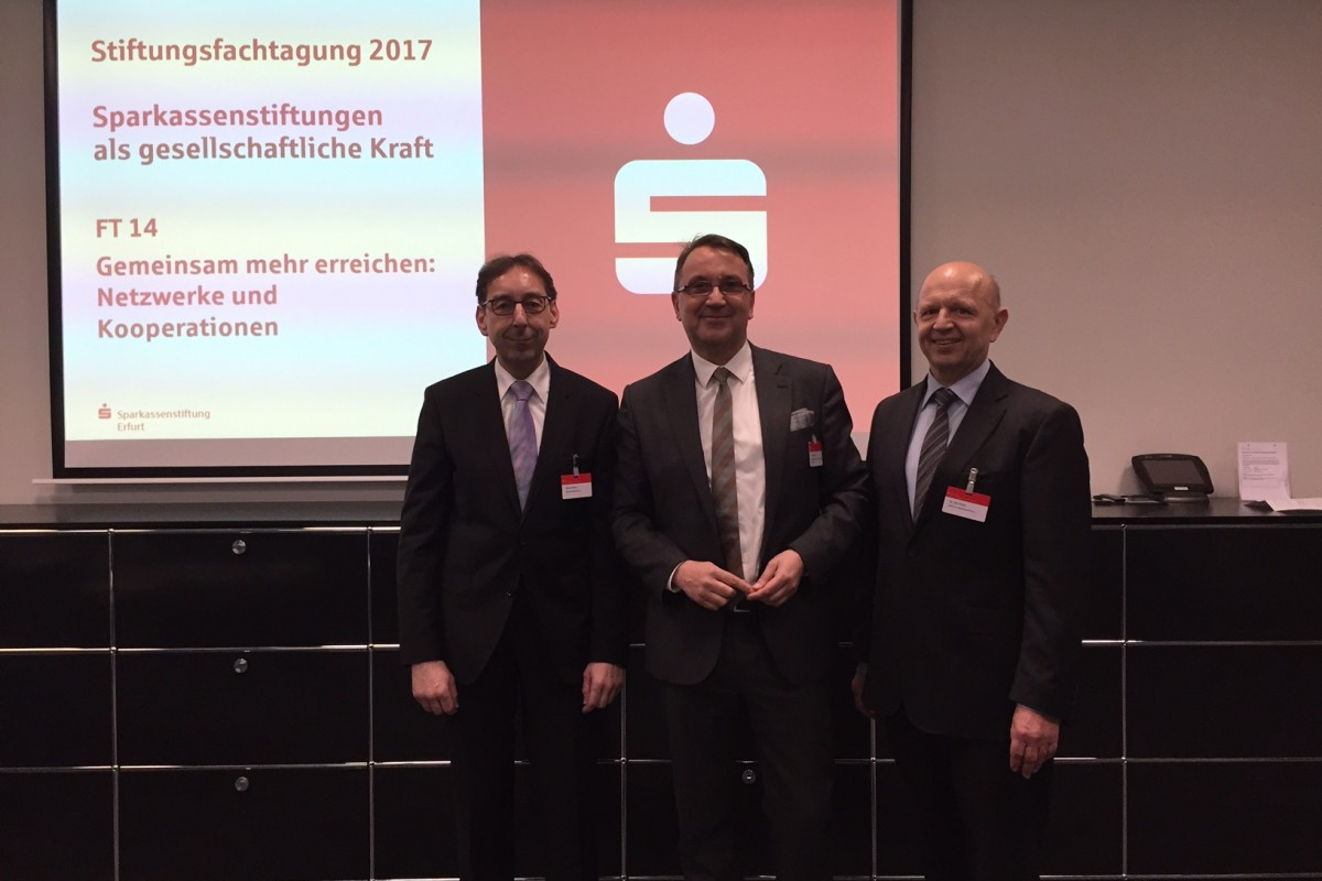 Auf dem Foto: Hartmut Kruse, Dr. Ingo Krüger