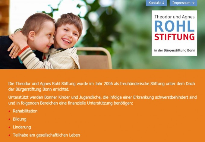 HomepageRohlStiftung